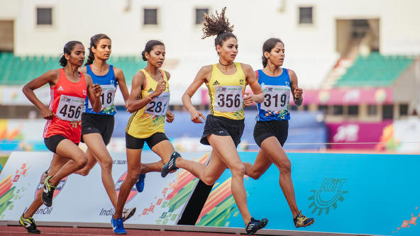 Double gold-winner Punjabi University's Harmilan was born to run