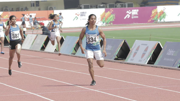 Dutee Chand wins 200m gold, lauds conduct of Khelo India University Games