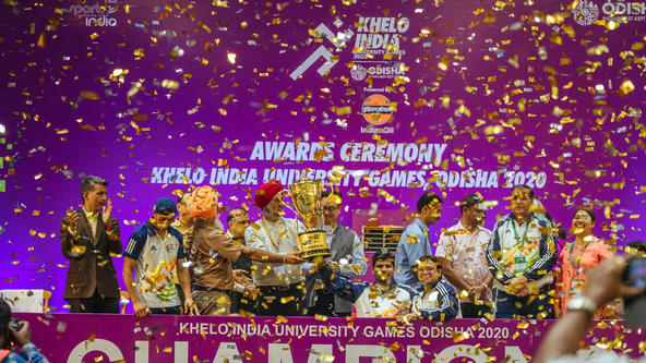 Khelo India University Games 2020: Closing Ceremony